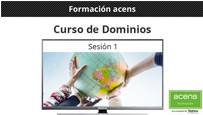 Vídeo curso de Dominios (1/9): Intro