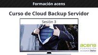 Vídeo curso Cloud Backup Servidor (3/3) Backup en entornos Windows